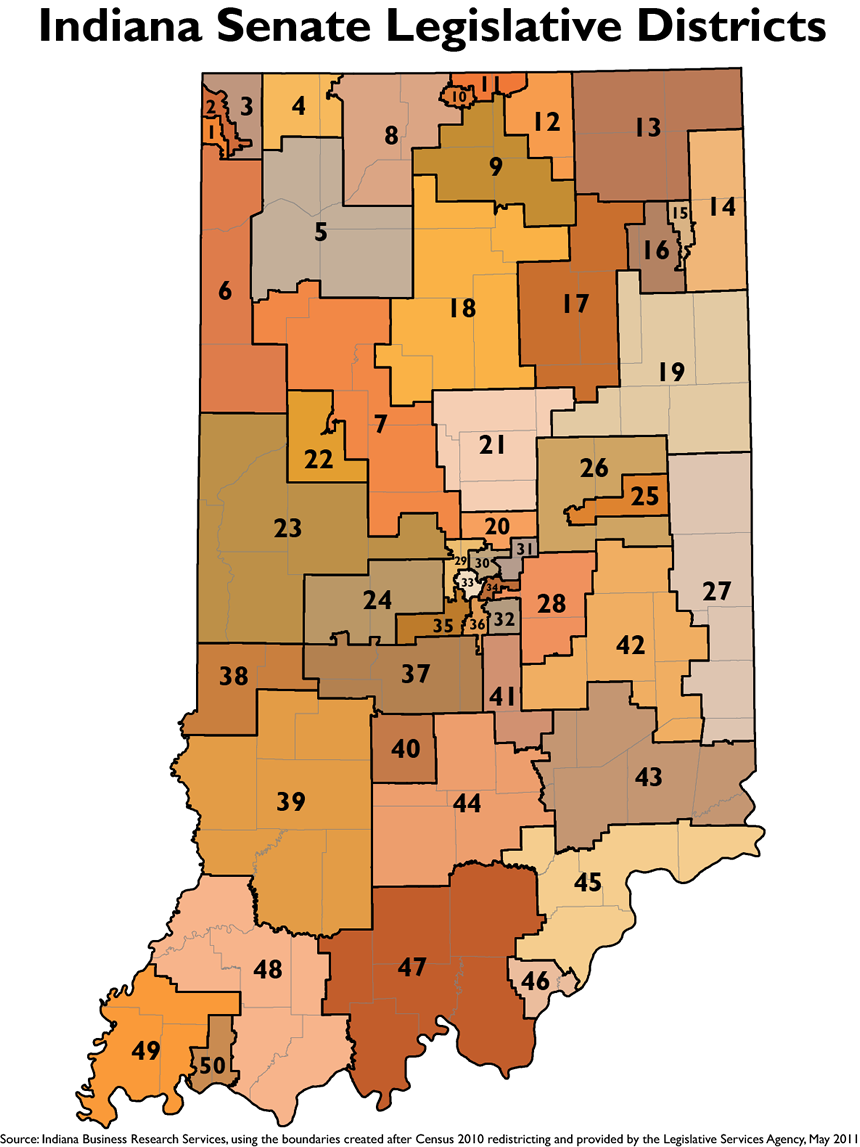 2011 maps indiana s u s congressional districts