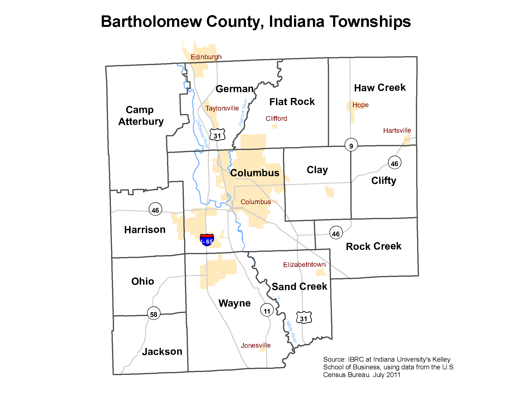 Township Maps STATS Indiana - Maps of indiana