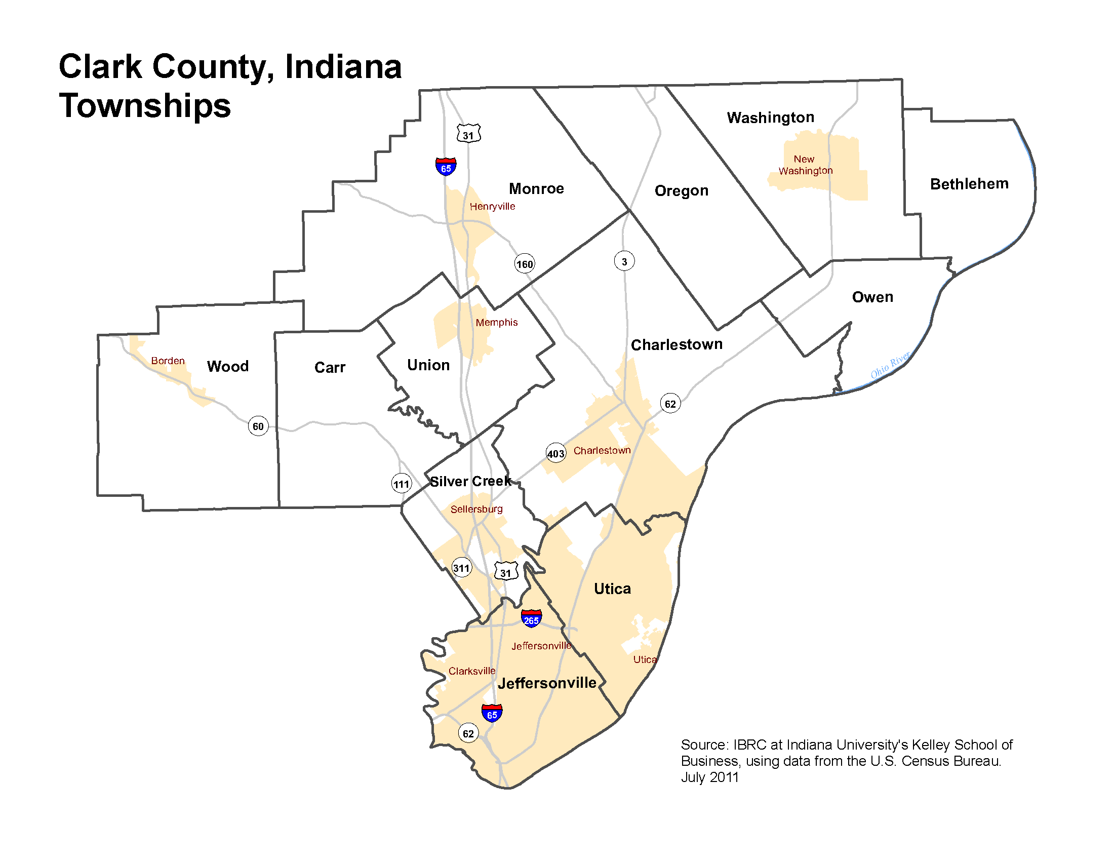 Township Maps STATS Indiana - Indiana maps with cities
