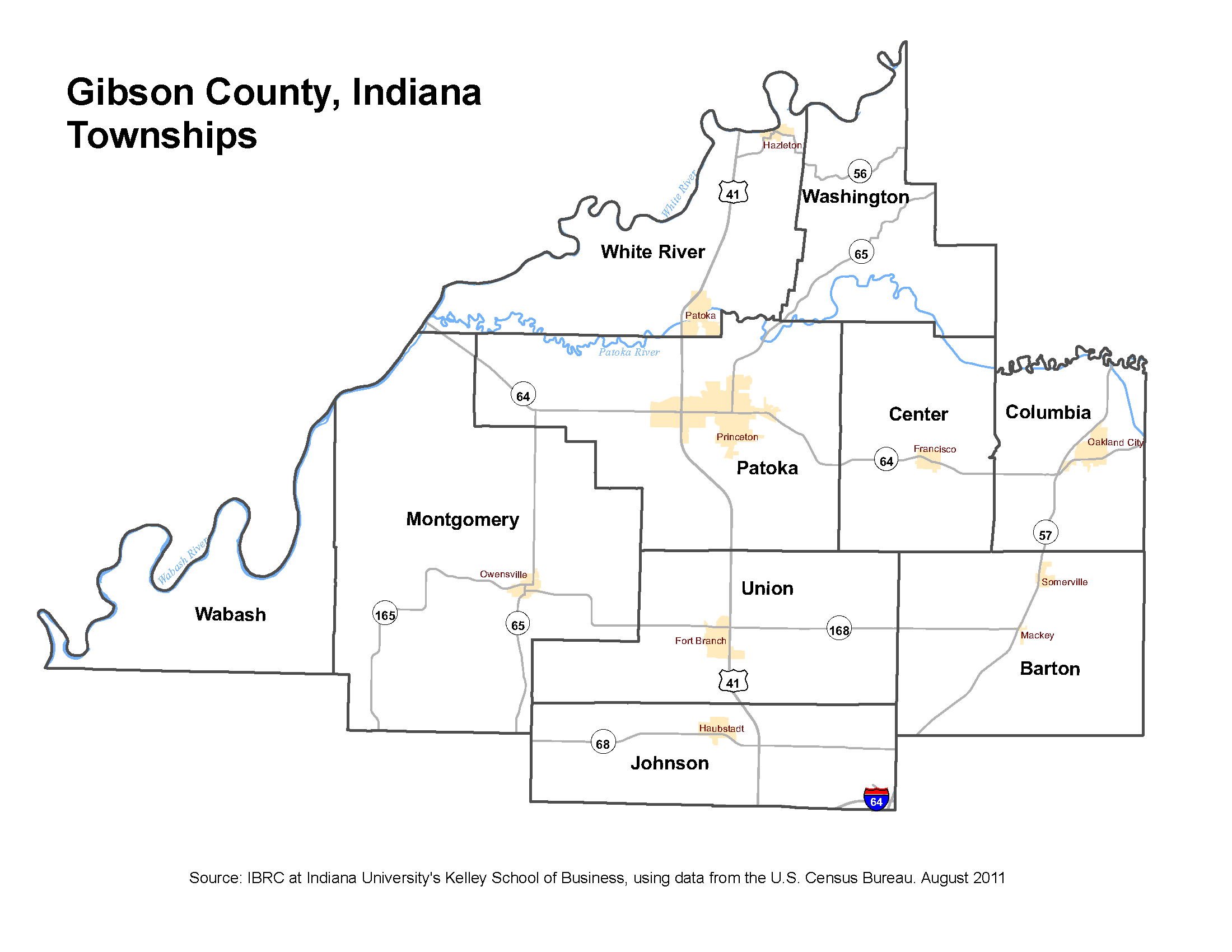 Indiana Map County.Township Maps Stats Indiana