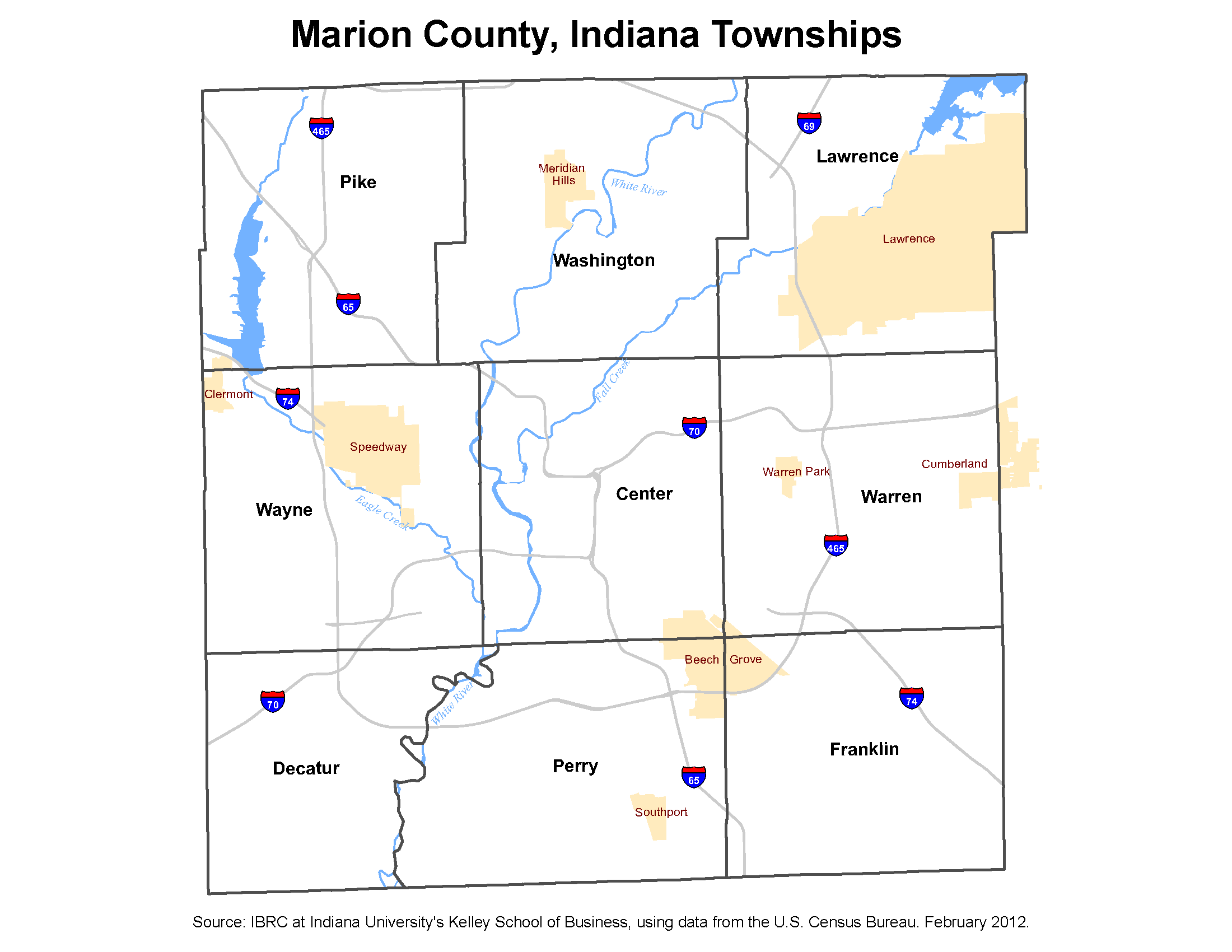 shelby township zip code map Township Maps Stats Indiana