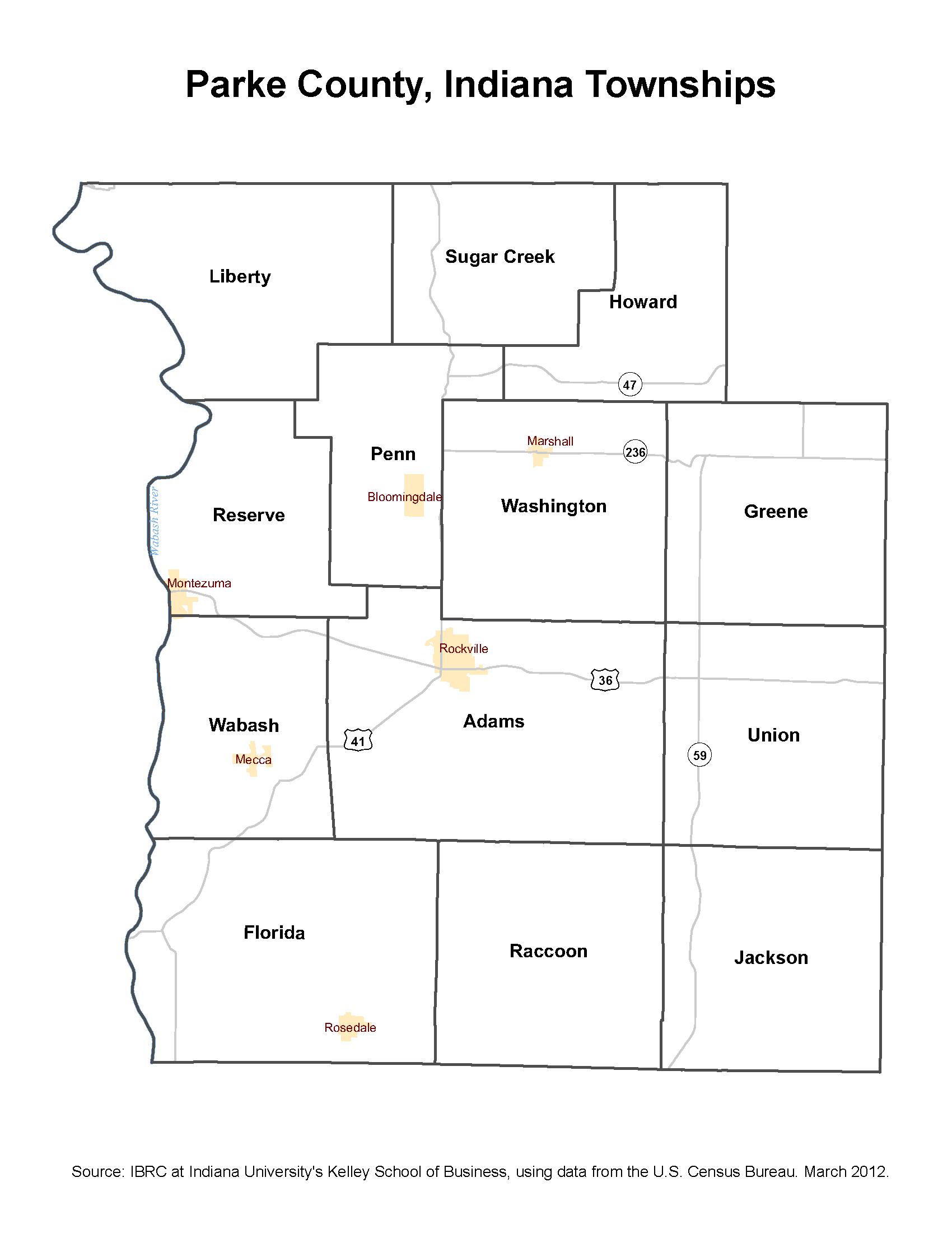 Township Maps: STATS Indiana